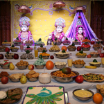 11th Patotsav - Annakut - ISSO Swaminarayan Temple, Norwalk, Los Angeles, www.issola.com